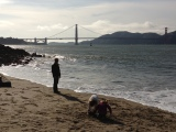 San Francisco – ice creams and sandcastles