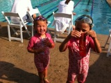 Our first swimming competition