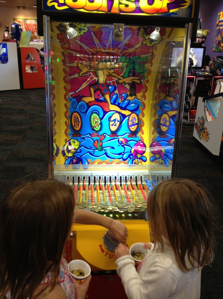 Chuck E Cheese - an adventure in American kids culture...