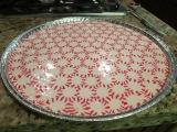 Fun Christmas plate tomake