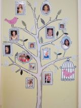 Family tree stickers