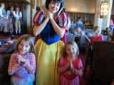 More Magic Kingdom and meeting lots of Disney characters