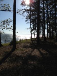 Livingston Lake beach