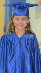 The Big One graduates from Kindergarten
