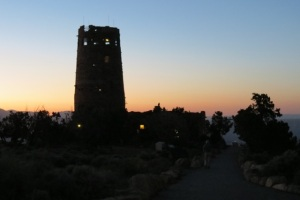 Sunset at the Watchtower