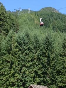 Skyride at Grouse Mountain