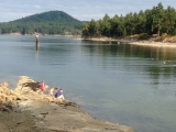 Galiano Island and Orcas
