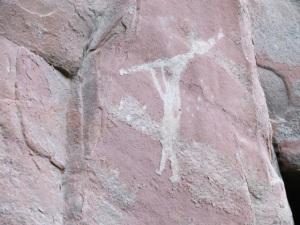 Sinaguan cliff drawings